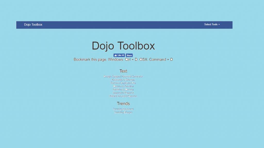 Dojo Toolbox