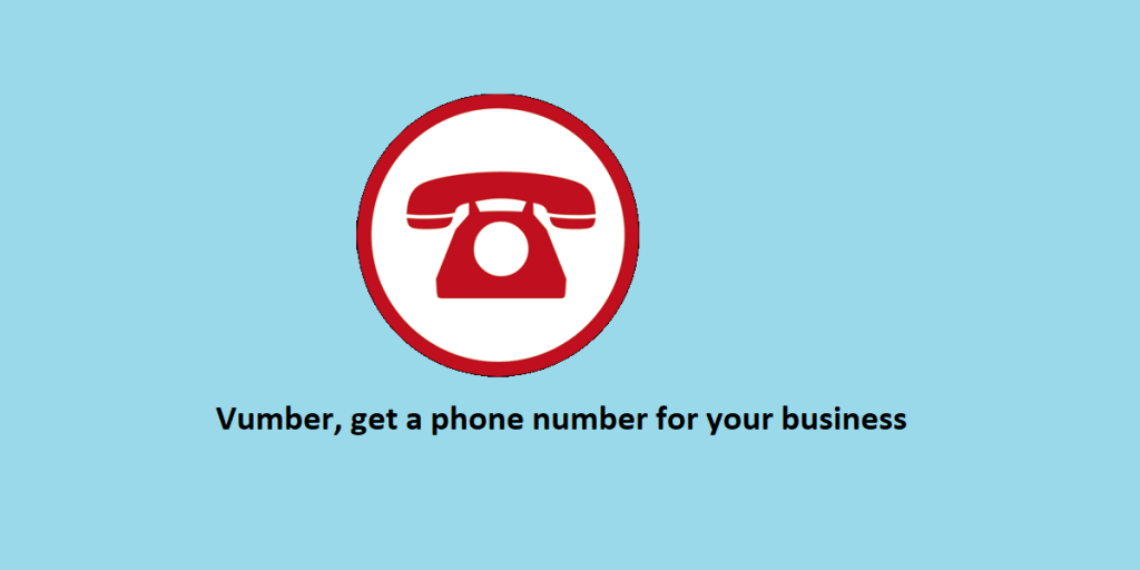 Vumber, get a phone number for your business