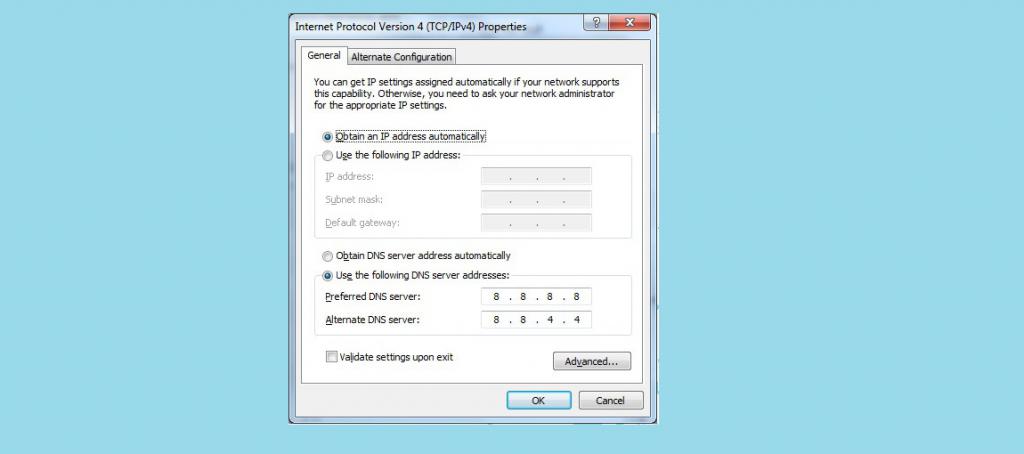 Google (Public) DNS Server