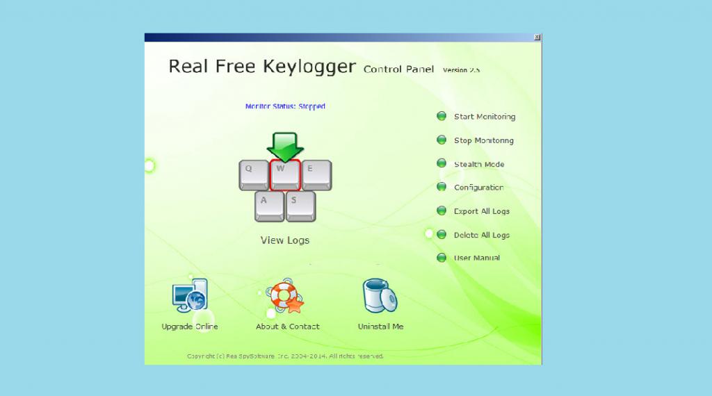 Real Free Keylogger