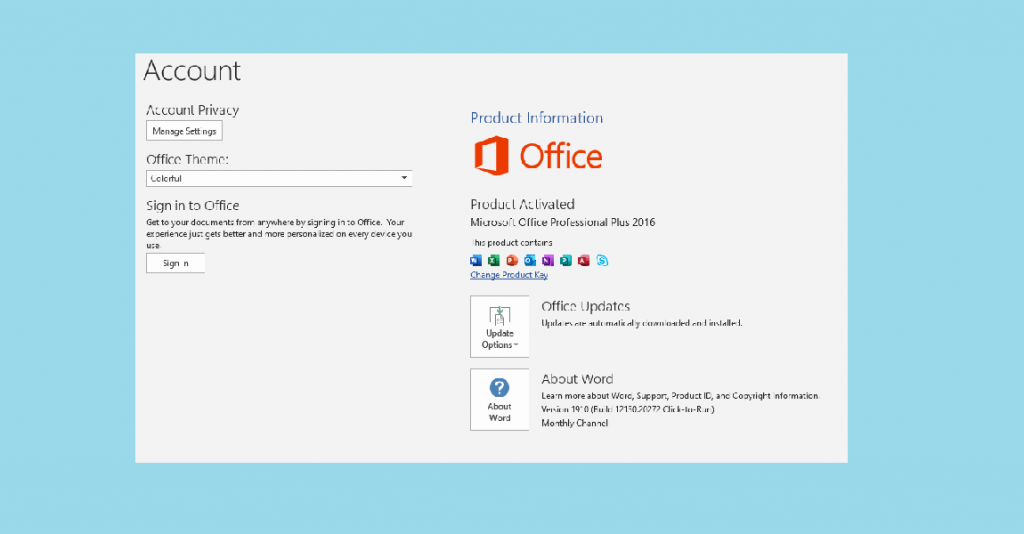 How to Activate Microsoft Office 2016 without Product Key Free 2