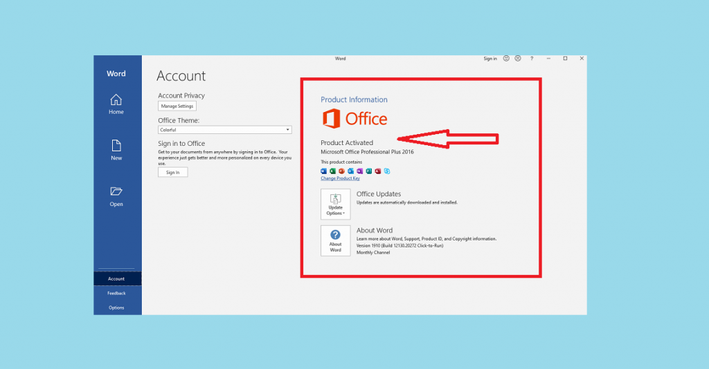 How to Activate Microsoft Office 2016 without Product Key Free 1