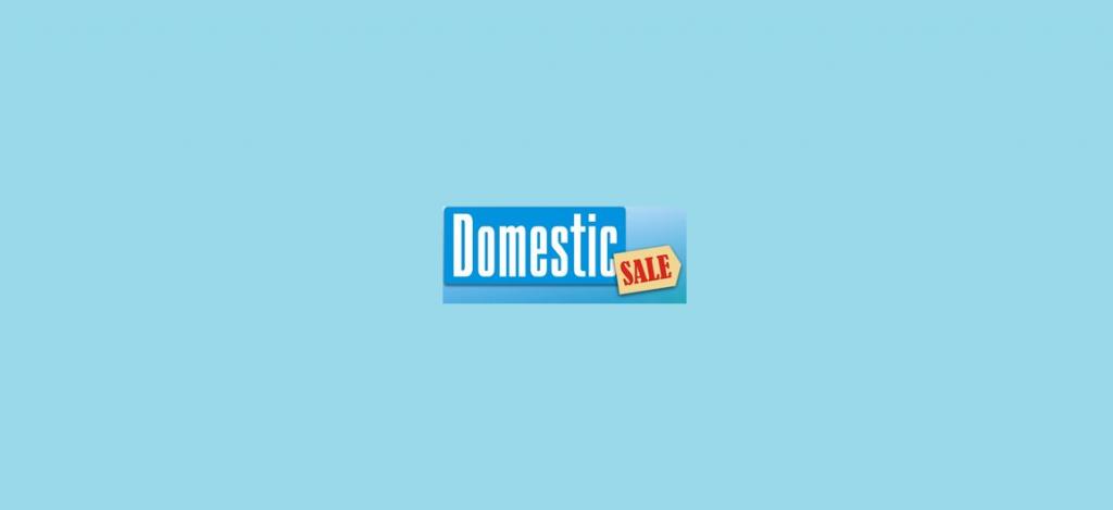 Domestic Sale