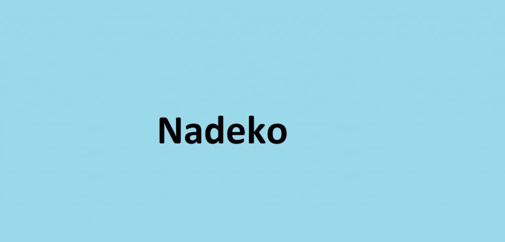 Nadeko