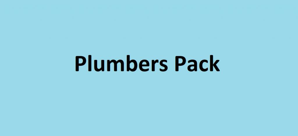 Plumbers Pack