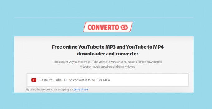 YouTube video Converter and Downloader