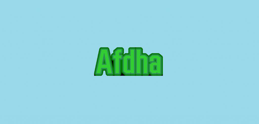 Afdha