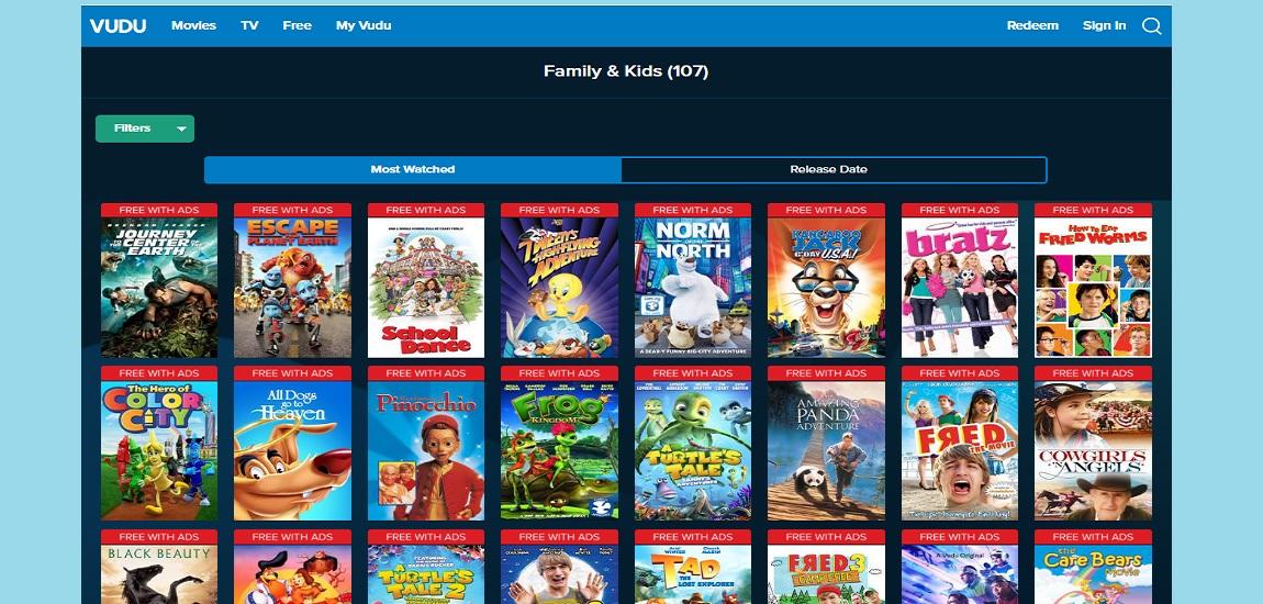 Watch Free family movies Movies