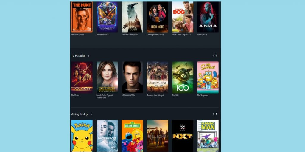 free movie websites like 123movies
