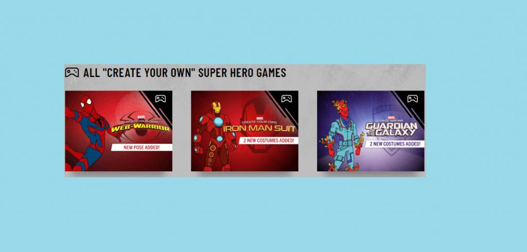 create your own superhero avatar