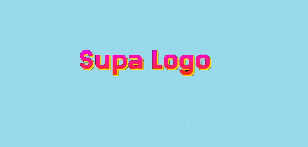 Supa Logo best free logo maker for website
