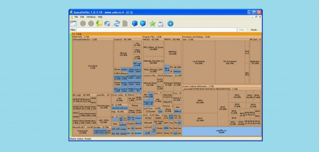 Free Disk Space Analyzer for PC