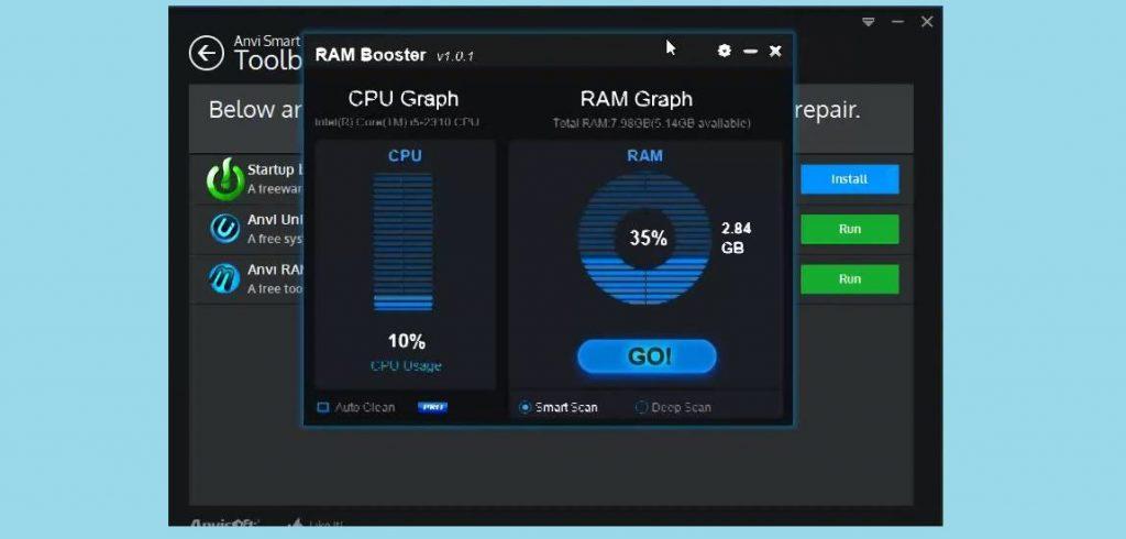 Anvi RAM Booster