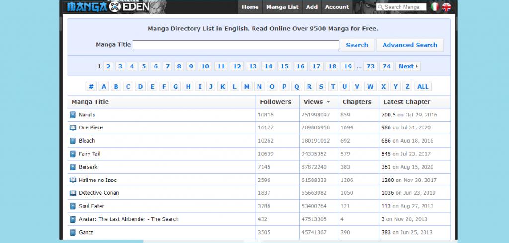 MangaStream Alternatives Best Sites Like MangaStream