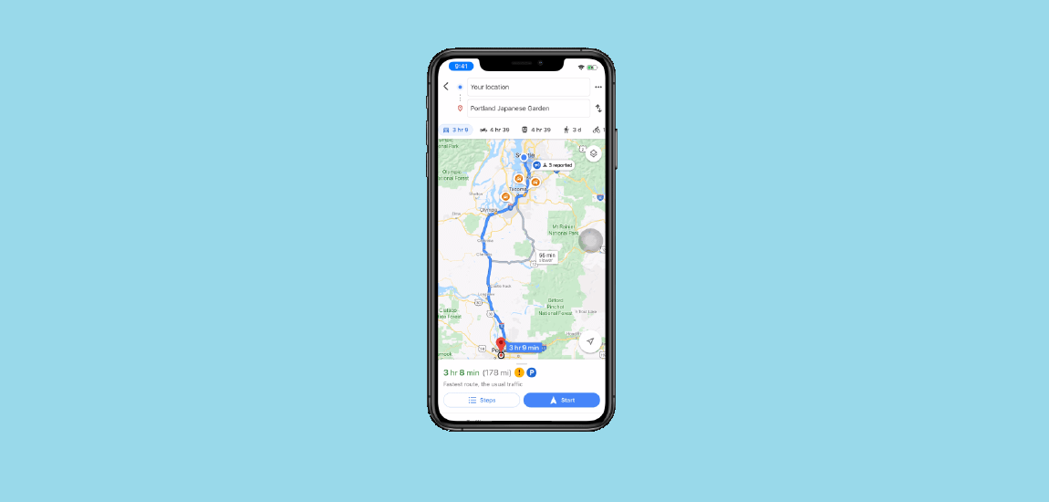 Track The Device with Google Map