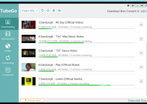 iTubeGo download youtube to mp3