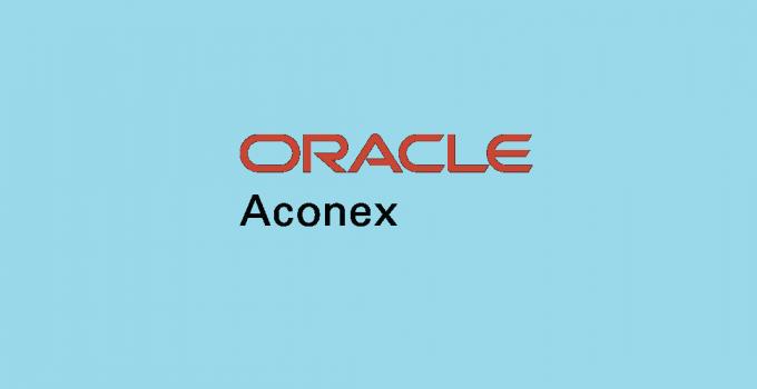 Aconex - Construction Project Controls Software
