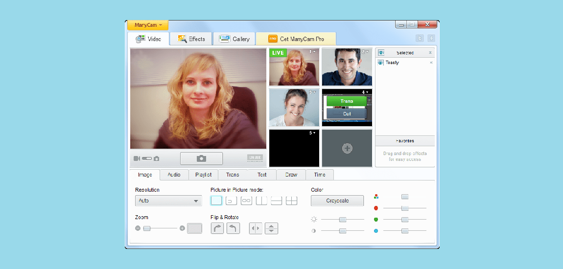 ManyCam best webcam