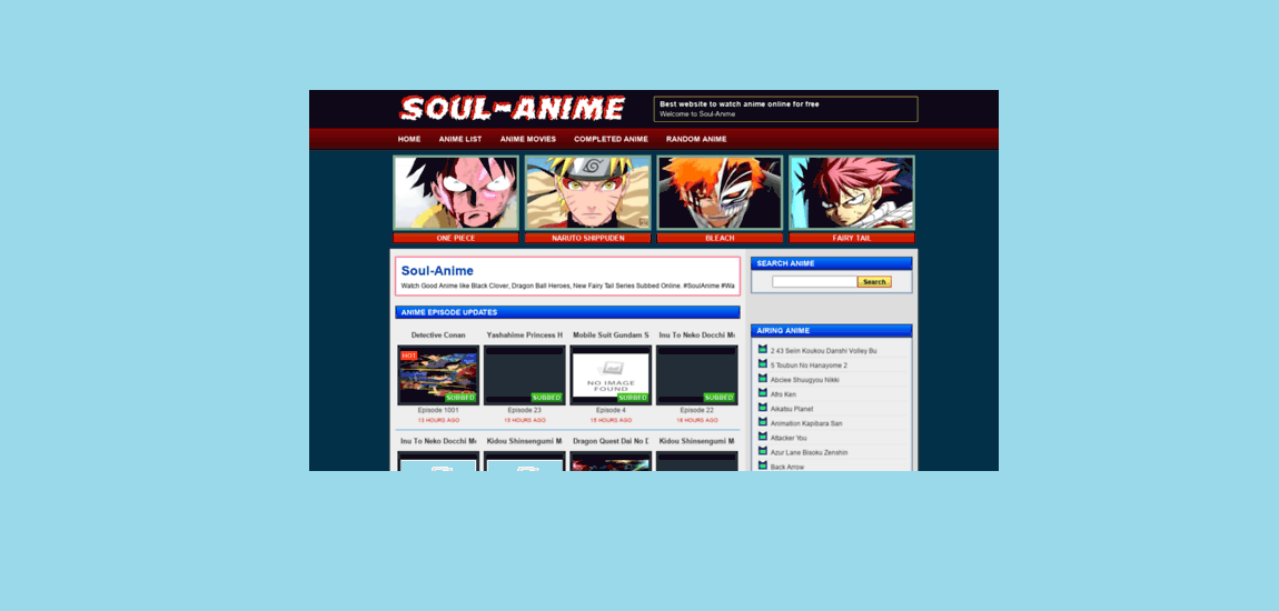 10 Best Sites like 4anime for All Anime Lovers out There 1